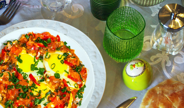 Eggs and Peppers veneto-style