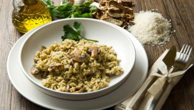 Porcini Mushrooms Rice