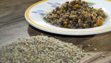 Lentils stewed