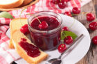 CHERRY JAM WITH ORANGE, CINNAMON AND RUM
